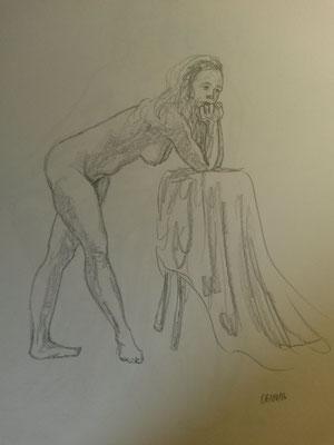 und das letzte Bild. Ich mag es, wie sie den Stuhl mit eingezieht.