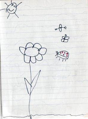 Blumen waren auch immer hoch im Kurs...