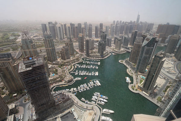 View on Dubai Marina