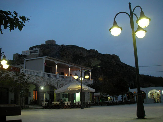 Town square in Chora.