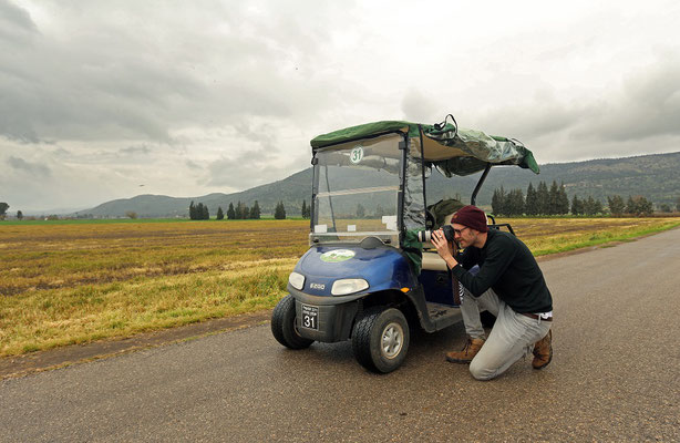 An excellent vehicle for birding!