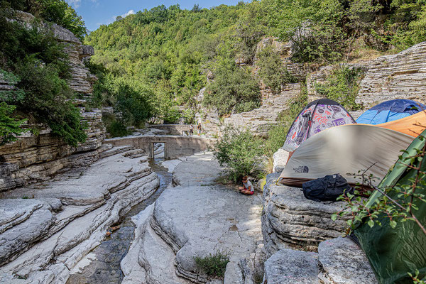 Morning view from our camping/cliff. © Jasper Boldingh