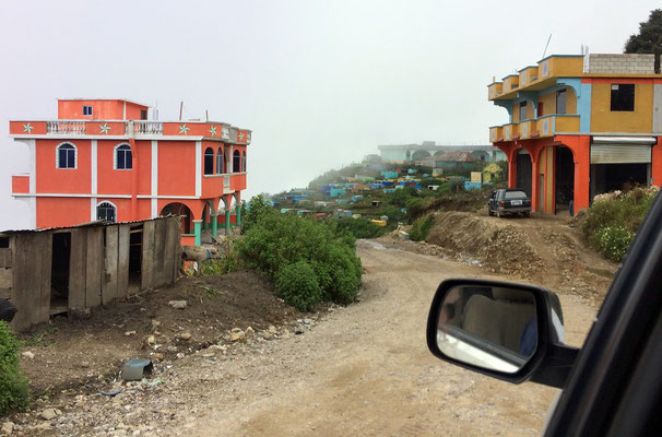 Another typical Guatemalan town, even on roads like this people would build speedbumps.