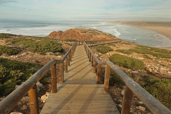 Carrapateira boardwalk