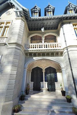 Entrance of Chalet Biester