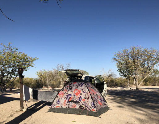 Our home in Etosha NP.