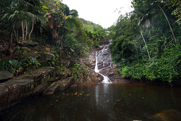 La Sauzier Waterfall.