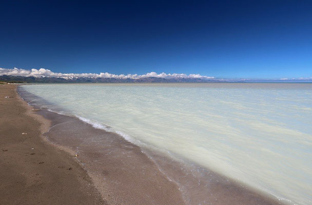 The waters of Lake Van are 6 times more salty than normal seawater and is also highly alkaline.