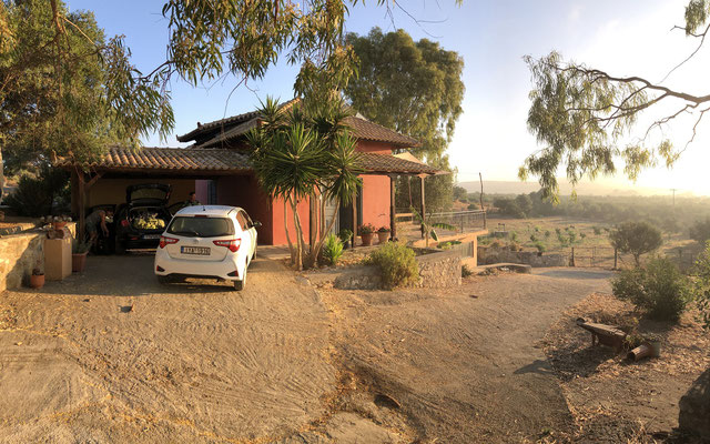 Our holiday home for the first three nights.