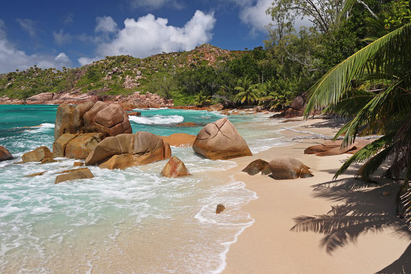 The remote Anse Badamier