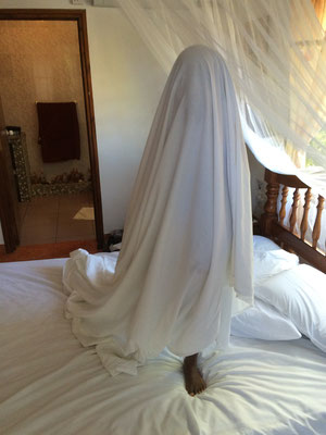 Little ghost in our bedroom!!!