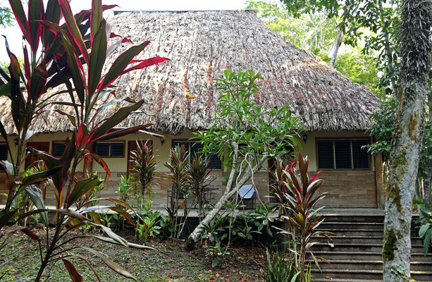 Our rooms in the Tikal Inn.