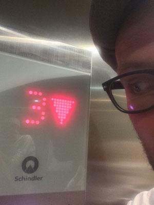 Schindler's lift.