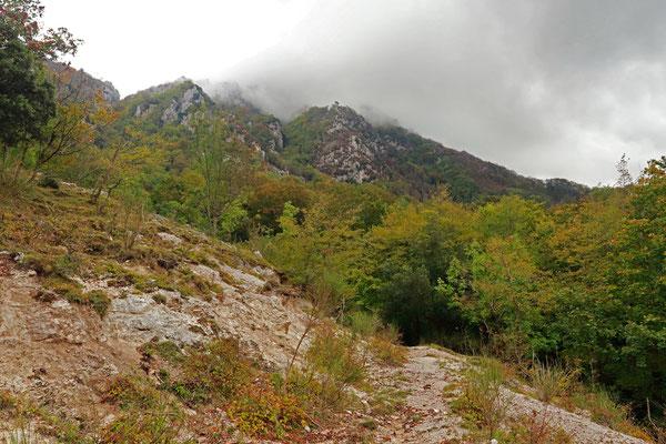 Picentini Mountains.
