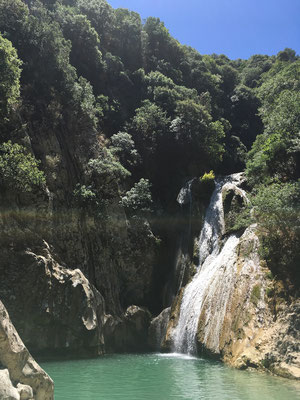 Polylimnio Waterfall