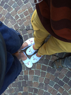 Italian high fashion.