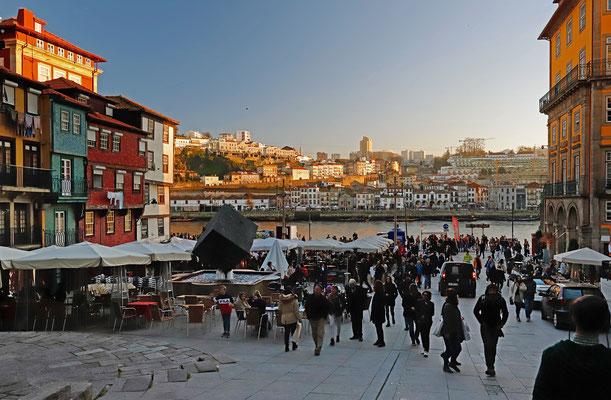 Downtown Porto.