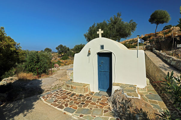 Little chapels are everywhere in Greece.