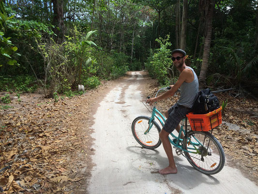 Cycling on La Digue #1