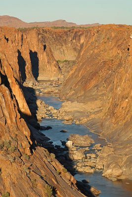 The stunning Orange River Gorge.