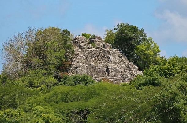 Ruins at Coba.