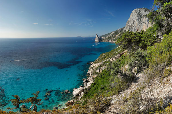The east coast of Sardinia.