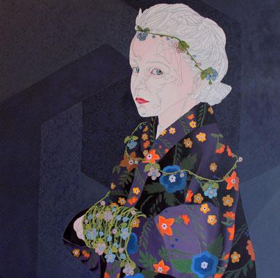 Oil On Canvas - 80x80 Cm 2017