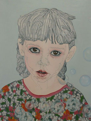 Dream Bubble - Bulle De Rêve / Oil on Canvas 60 x 80 Cm  2016