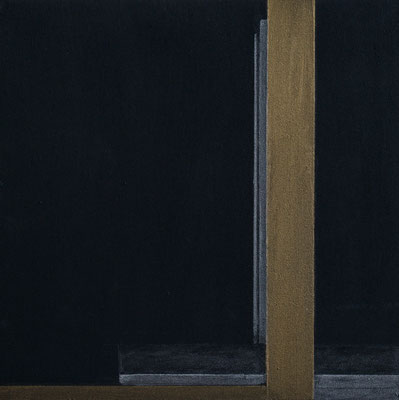25,0 x 25,0 cm Acryl u. Polychromos auf MDF, 2018 (in Privatbesitz Krefeld)