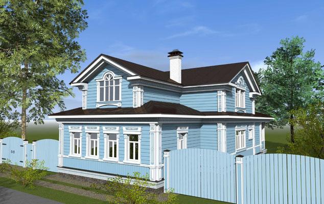 проект дома в суздале