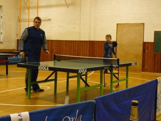 Früh übt sich...  -  Training mit Jan & Moritz