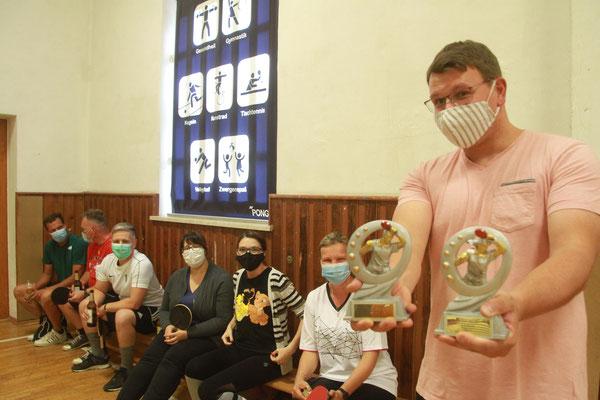 Die TT-Garde des MCG ist heiß auf Pokale (Bild: jst)