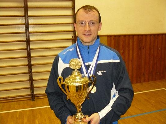 Vereinspokal 2016 - Sieger im Einzel - Titelverteidiger Norman Schusser