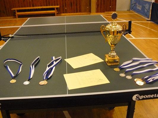 Vereinspokal 2016 - Auszeichnungen