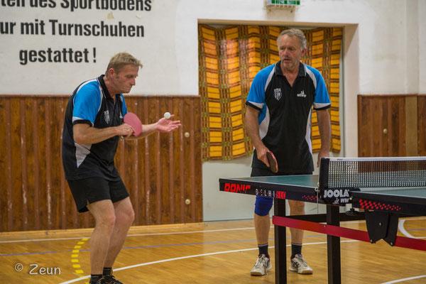 Dietmar Feierabend und Rudi Ring gingen als MSV III an den Start.