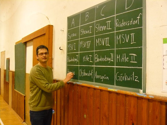 Vorbereitung am Karfreitag - Feine Schrift, Thomas