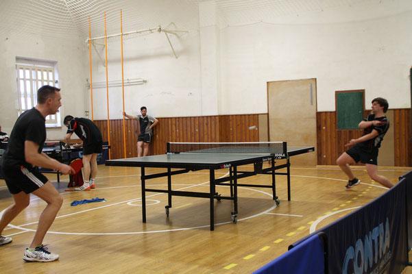 34. Osterturnier - Halbfinalpartie zwischen Stenn II & Plauen-Mitte I