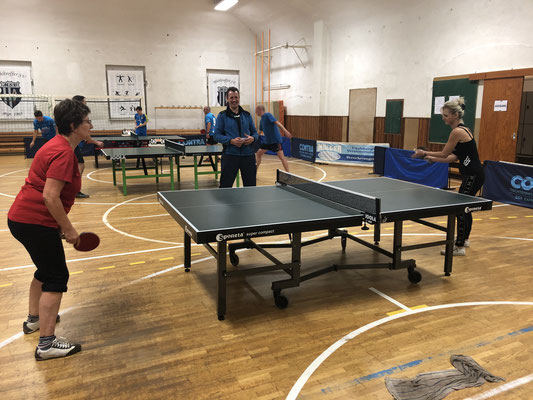 Ewiges Duell im Damenfinale: Maria Kuhl (l.) gegen Anett Springsguth (r.)