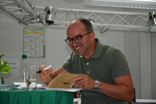 """Unser Schatzmeister und Initiator für die Teilnahme bei """"den Sternen des SPorts 2015"""" Torsten Zimmermann"""