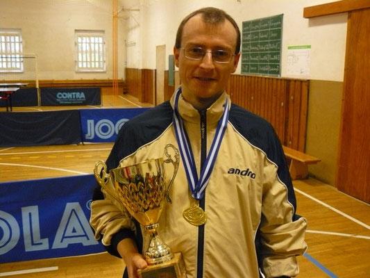 Einzel-Stadtpokal-Sieger 2015  -  Norman Schusser