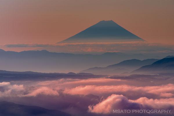 NAGANO Province - Monte Fuji visto a partir do monte Takabochi_11.
