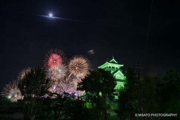Festival de hanabi de Nagahama.