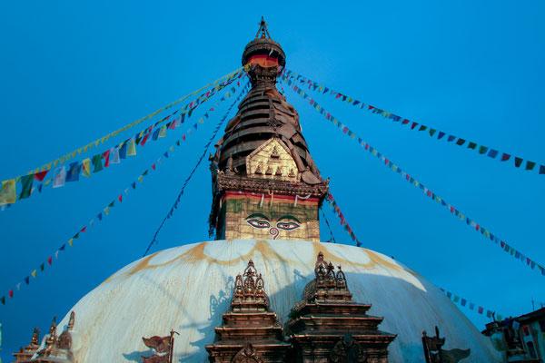 NEPAL Swayambhnath Stupa.