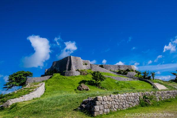 OKINAWA Province - Ruínas do castelo Katsuren.