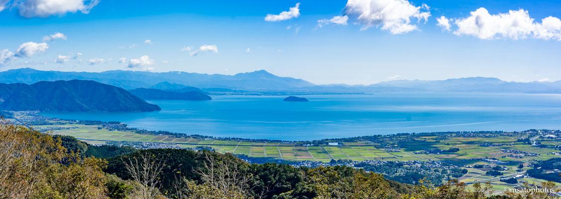 SHIGA Province - lago Biwa(Biwako).