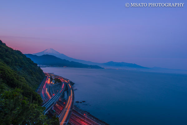 11 de maio a partir do Sato Pass, província de Shizuoka(21).