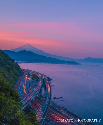 SHIZUOKA Province - Yui, Satta pass.