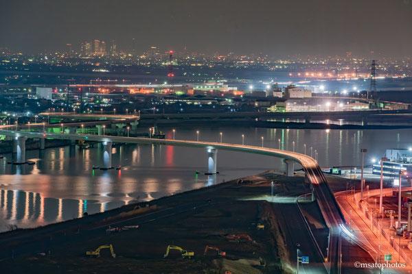 MIE Province - Yokkaichi city, Ponte de acesso ao porto_01.
