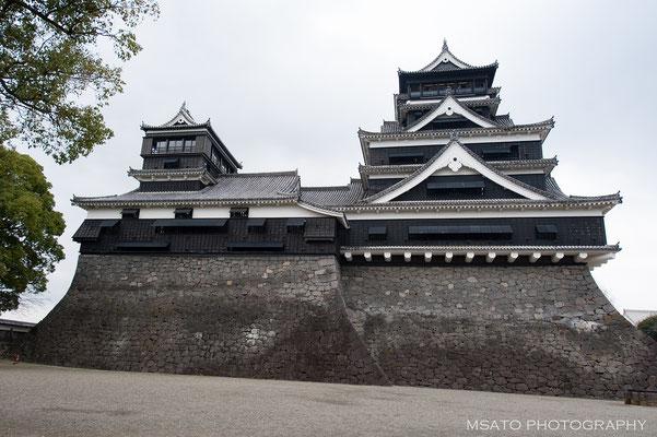 43 - Província de KUMAMOTO. Castelo de Kumamoto. Localizado na cidade de Kumamoto, é um dos mais belos do Japão, sofreu grandes perdas durante o terremoto em 2016.