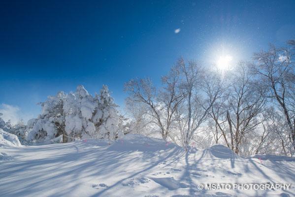Okusahiga Kogen, fotografado no dia 13 de janeiro, província de Nagano(16)